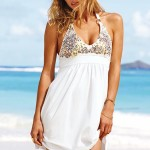 Casual White Summer Dress 2010