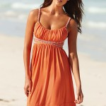 Cute Orange Summer Dress 2010