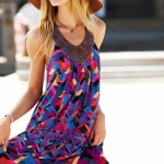 Colorful Halter Summer Dresses 2010