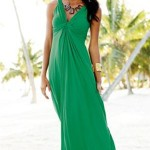 Green Maxi Summer Dress 2010
