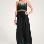 Long Black Maxi Summer Dress 2010