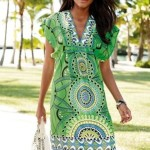 Green Tunic Summer Dress 2010