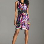 Short Marble Summer Cocktail Dress 2010