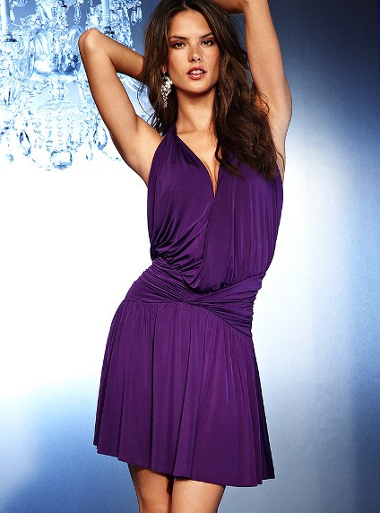 purple summer dresses 2011
