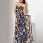 Long Strapless Summer Dress 2011