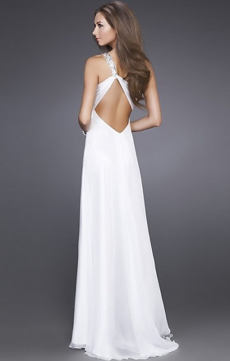 Long one shoulder summer wedding dress 2011 for Dress for a summer wedding