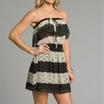 Black Ivory Strapless Summer Dresses 2011
