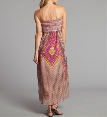 Casual Strapless Maxi Summer Dresses 2011 By Cocoberry
