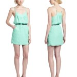 Cute Short Mint Summer Dress 2012