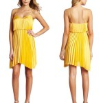 Stunning High Low Yellow Summer Dress 2012