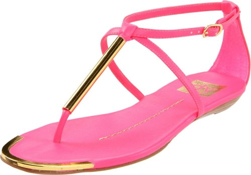 hot pink flat summer shoes 2013 DV by Dolce Vita