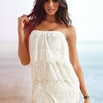 Cute Short White Summer Dresses 2013