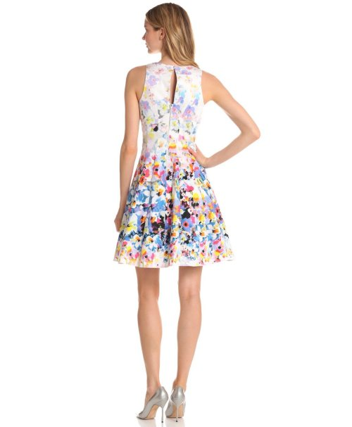 floral summer dress 2013 by Maggy London-