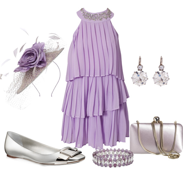 short halter lilac summer dress 2014