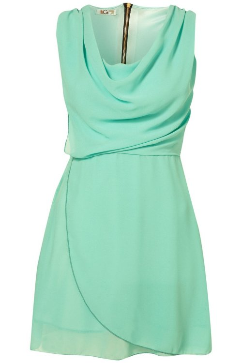 simple and classy mint summer dress 2014