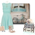 Blue Summer Dress 2014 Accessories