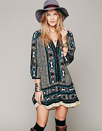 free people boho summer dress 2014