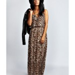 Leopard Long Maxi Summer Dress 2014