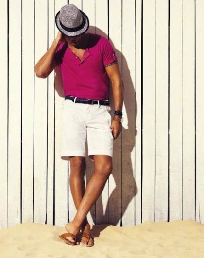 Calibre summer mens fashion look