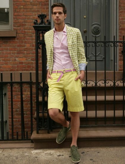 fun mens summer look by Scott James