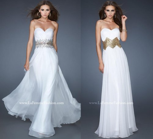 iridescent stones summer wedding dresses