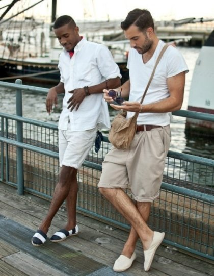 mens summer fashion neutrals