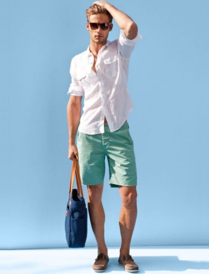 Mens Summer Fashion Cargo Shorts