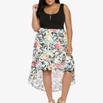 Gorgeous Floral Plus Size Summer Dresses 2014