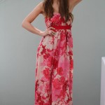 Casual Red Summer Dresses 2014
