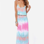 Cute & Casual Tie Dye Summer Dresses 2014