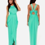 Mint Bridesmaids Summer Dresses 2014