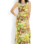 Long Yellow Summer Dresses 2014