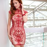 Cocktail Red Summer Dresses 2014