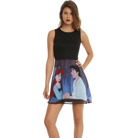 black blue disneys little mermaid ariel summer dress 2015