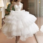3 Simple & Cute Short Wedding Dresses
