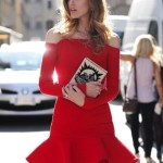 Gorgeous Red Summer Dresses for Blond Hair