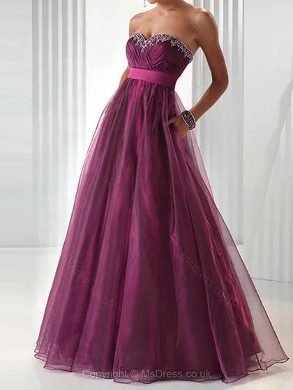 purple prom dress 2015