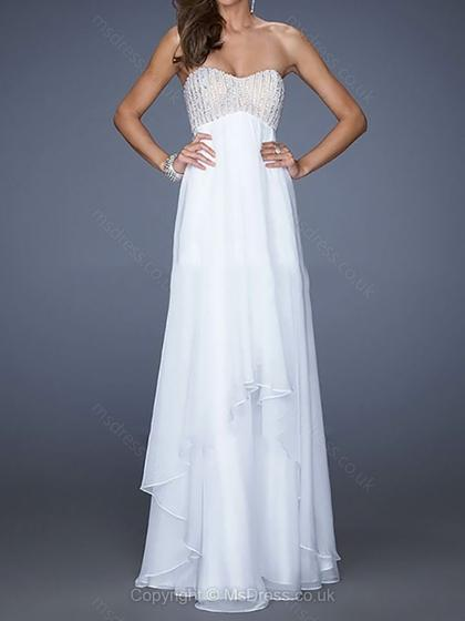 strapless white prom dress 2015