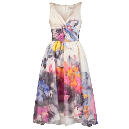 stunning watercolor summer dress 2015 Lela Rose