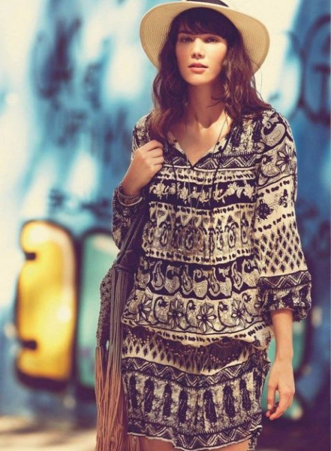 Cool Bohemian Style Summer Dresses 2015