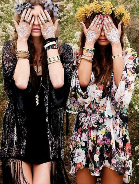 Cool bohemian style summer dresses 2015 for Imagenes boho chic