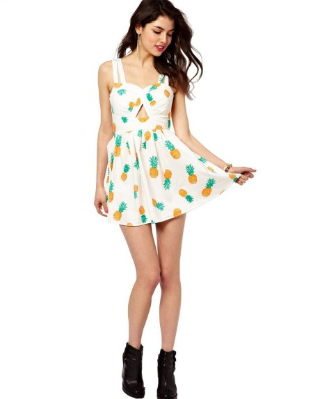 pineapple summer dress 2015 by GALHAM