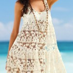 Cute Crochet Beach Dresses 2015