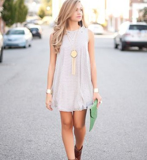 Cute & Casual Date Night Dresses 2015
