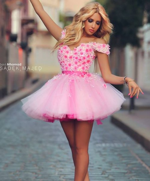 formal pink summer dress for juniors