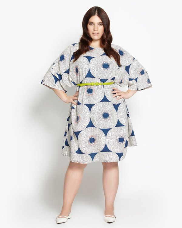 beth ditto grey blue summer dress 2016