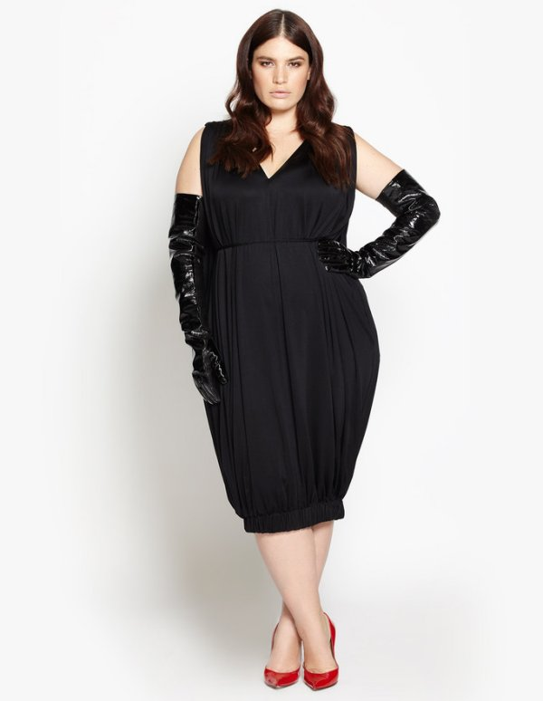 beth ditto plus size black bubble summer dress 2016