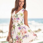 Florals and Lace in Michelle Keegan's Lipsy Collention SS2016