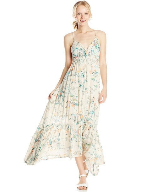 white-blue-flowery-maxi-prairie-boho-dress-Billabong
