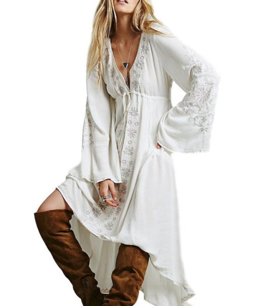 white-cotton-embroidery-prairie-boho-dress-R.Vivimos